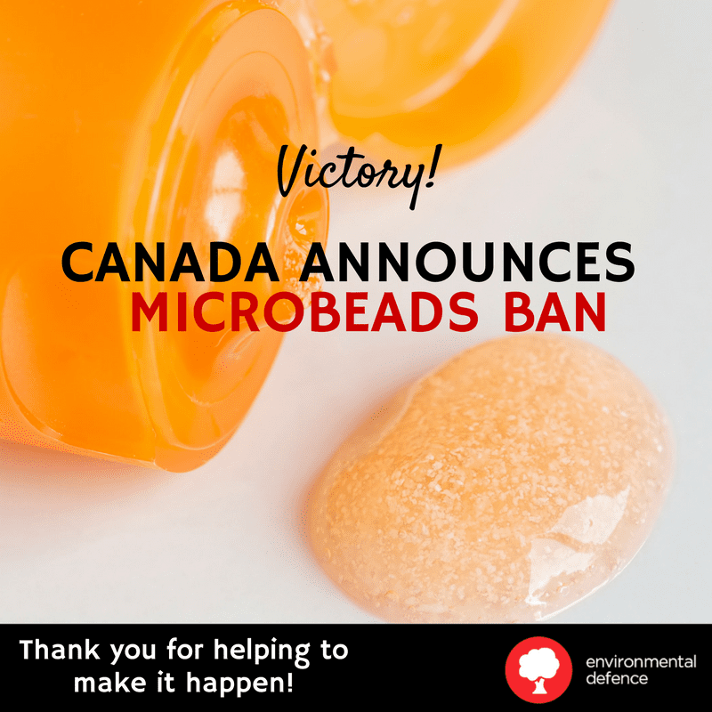 Microbeads victory graphic